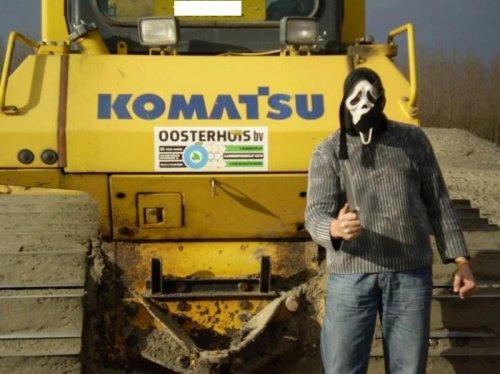 Komatsu Sjomp, foto van crazy machinisie