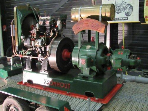 Kromhout motor, foto van jans-eising