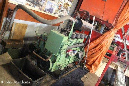 Kromhout motor, foto van Alex Miedema