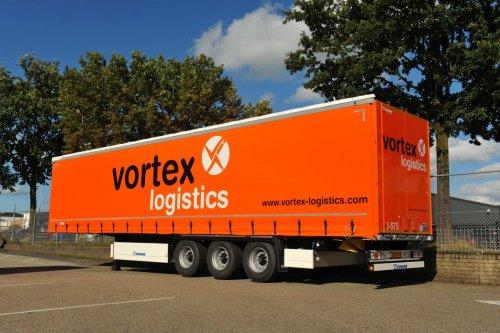Krone oplegger, foto van Truckfan Nieuwsposter