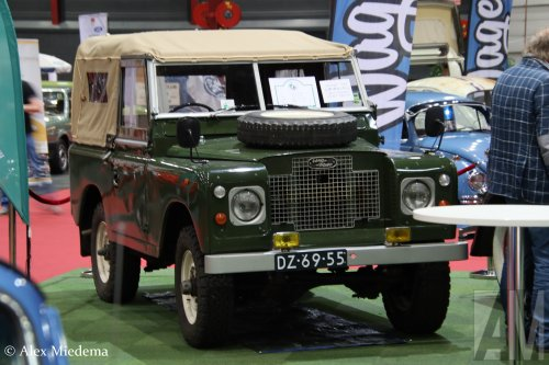 Land Rover series, foto van Alex Miedema