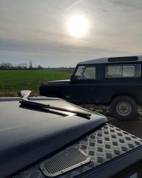 Land Rover Defender, foto van stijn-de-bock