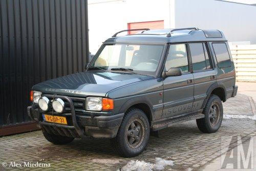 Land Rover Discovery, foto van Alex Miedema