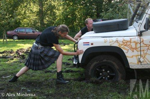 Land Rover Sjomp, foto van Alex Miedema