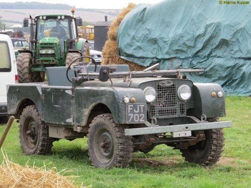 Land Rover series, foto van oldtimergek