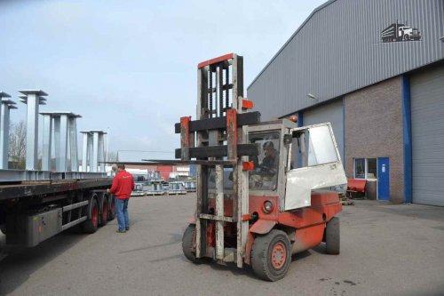 Linde Heftruck, foto van truckspotterhgk
