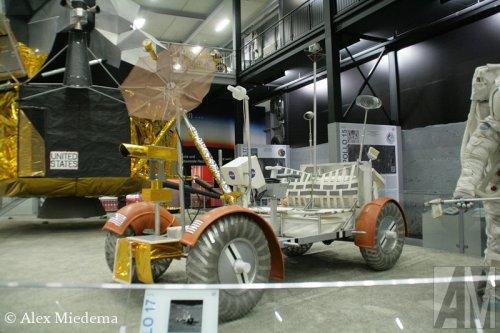 Lunar Rover Apollo 17, foto van Alex Miedema