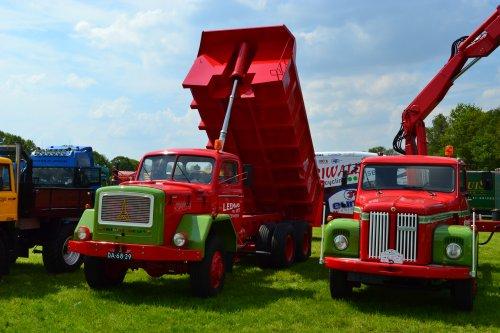 Magirus-Deutz Vrachtwagen, foto van coen-ensing