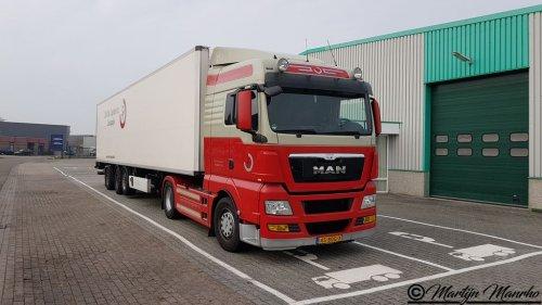MAN TGX, foto van MartijnM71