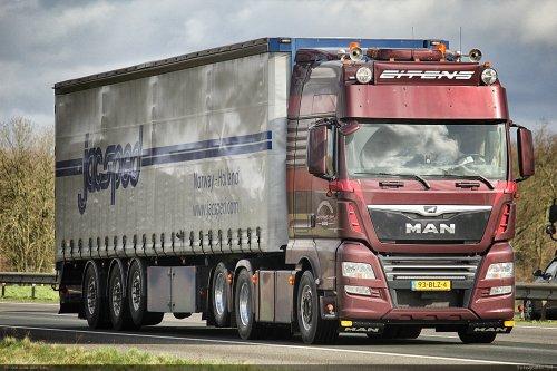 MAN TGX, foto van Bram van der Leij