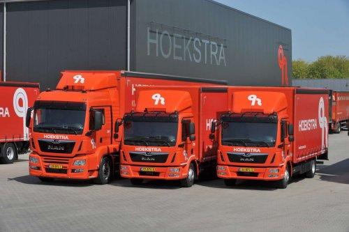 MAN meerdere, foto van Truckfan Nieuwsposter
