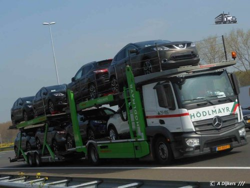 Mercedes-Benz Actros MP4, foto van arjan-dijkers
