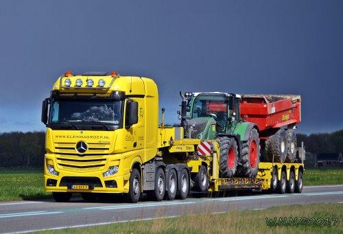 Mercedes-Benz Actros, foto van bernard-dijkhuizen