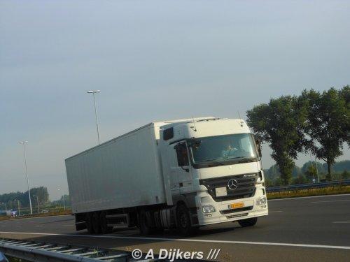 Mercedes-Benz Actros MP2 van arjan-dijkers