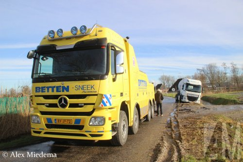 Mercedes-Benz Actros MP3, foto van Alex Miedema