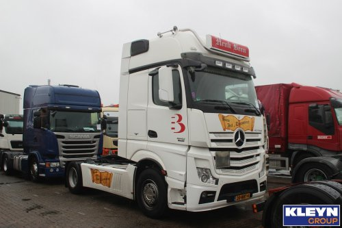 Mercedes-Benz Actros MP4, foto van Katy Kleyn