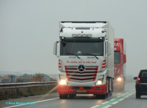 Mercedes-Benz Actros MP4, foto van René