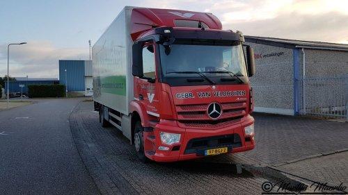 Mercedes-Benz Antos, foto van MartijnM71