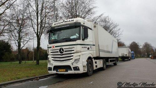 Mercedes-Benz Atego MP4, foto van MartijnM71