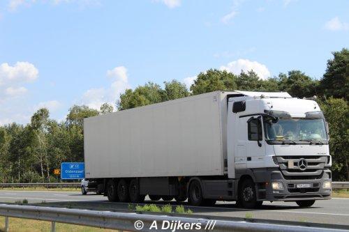Mercedes-Benz Actros MP3, foto van arjan-dijkers