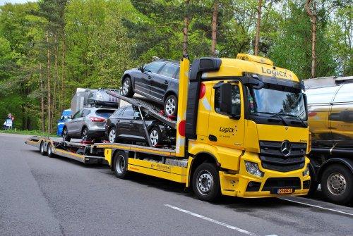Mercedes-Benz Actros MP4, foto van Lucas Ensing
