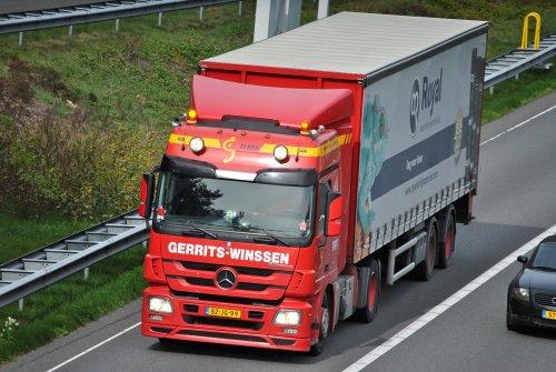 Mercedes-Benz Actros MP3, foto van Lucas Ensing