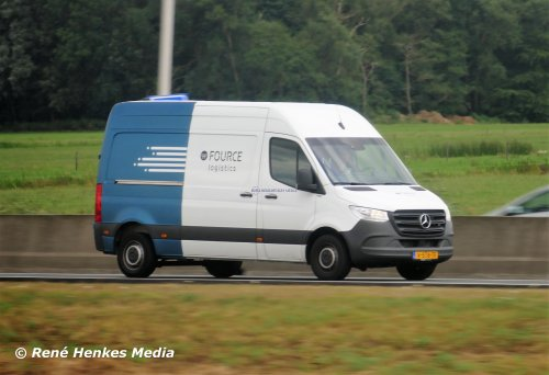 Mercedes-Benz Sprinter, foto van René