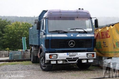 Mercedes-Benz NG, foto van Alex Miedema