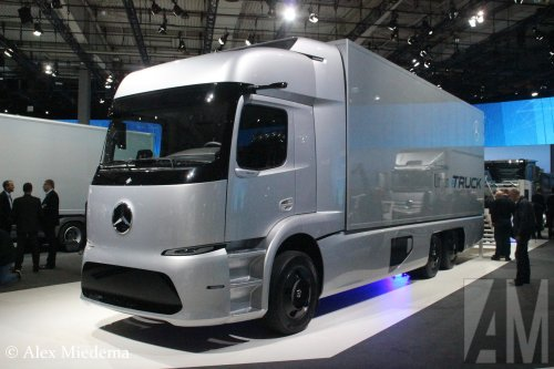 Mercedes-Benz Urban eTruck, foto van Alex Miedema