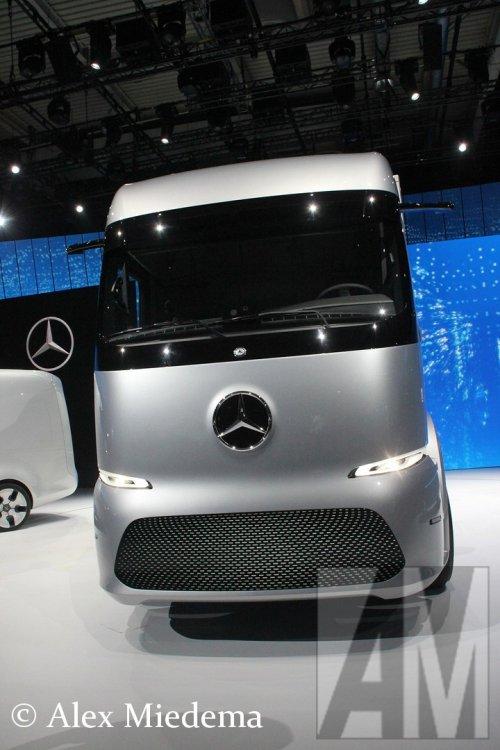 Mercedes-Benz Urban eTruck, foto van Alex Miedema