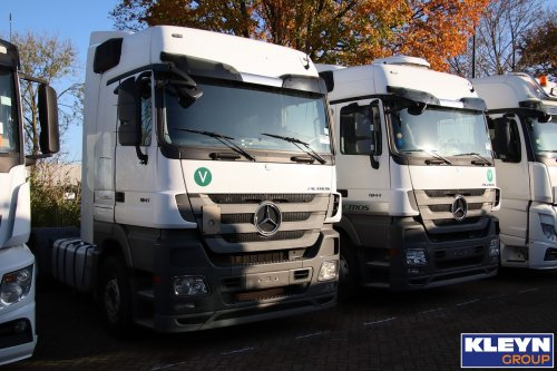 Mercedes-Benz Actros MP3, foto van Katy Kleyn