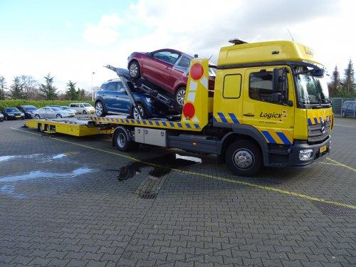 Mercedes-Benz Atego, foto van dickt