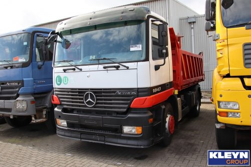 Mercedes-Benz Actros MP1, foto van Katy Kleyn