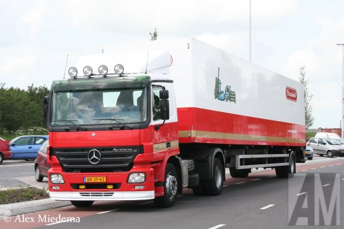 Mercedes-Benz Actros MP2, foto van Alex Miedema
