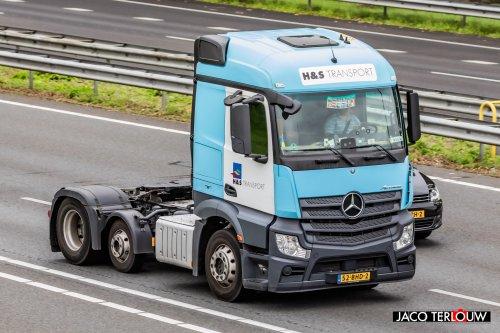 Mercedes-Benz Actros MP4, foto van xrayjaco