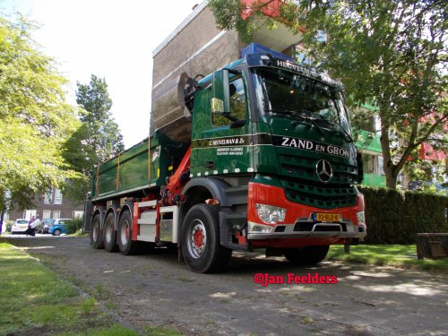 Mercedes-Benz Arocs, foto van Jan F