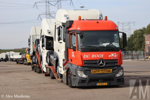 Mercedes-Benz Actros MP4, foto van Alex Miedema