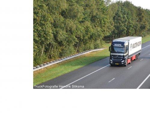 Mercedes-Benz Actros, foto van hendrik-stiksma