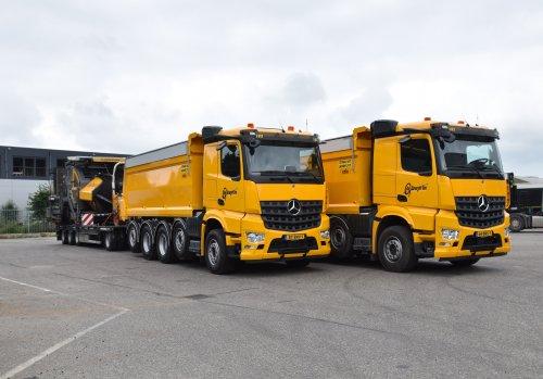 Mercedes-Benz Arocs, foto van Truckfan Nieuwsposter