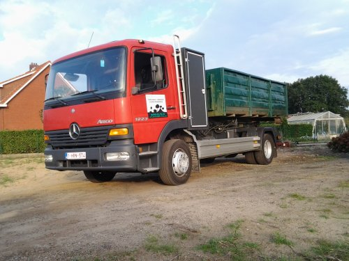 Mercedes-Benz Atego MP1, foto van orangpower