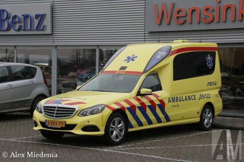 Mercedes-Benz E-klasse, foto van Alex Miedema