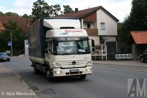 Mercedes-Benz Atego MP2, foto van Alex Miedema