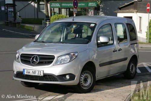 Mercedes-Benz Citan, foto van Alex Miedema