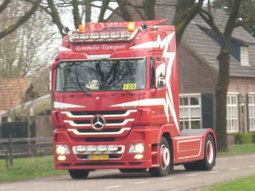 Mercedes-Benz Actros MP3, foto van JD6930