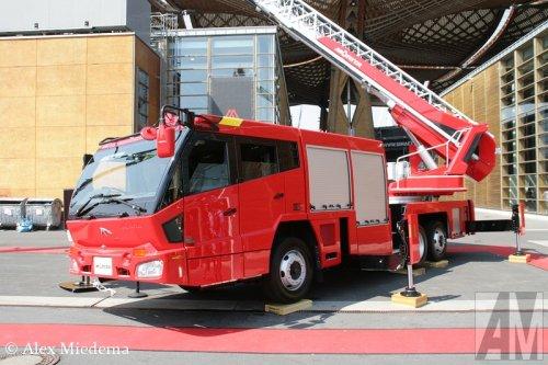 Murita Super Gyro Ladder MLLAH5-30WG, foto van Alex Miedema