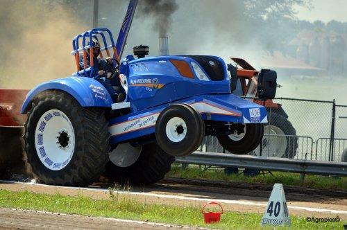 New Holland Tractorpulling, foto van KennyT