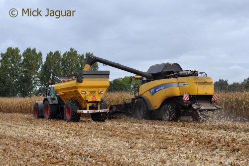New Holland CX 8050, foto van Mick Jaguar