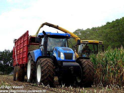 New Holland T 7530, foto van JohanNunspeetElspeet