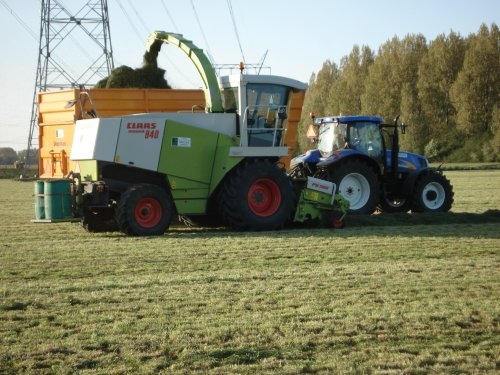 New Holland TS 135 A, foto van Splitpen