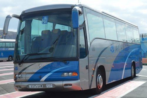 Noge bus, foto van buttonfreak